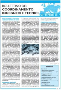 Bollettino 2017 settembre