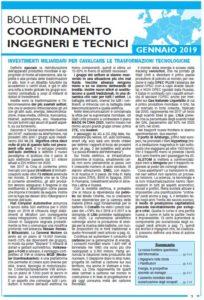 Bollettino 2019 gennaio